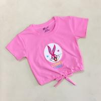 Áo thun bé gái in thỏ - Sỉ quần áo trẻ em xuất khẩu